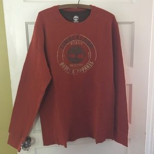 Timberland | Rust Colored Thermal Long Sleeve L